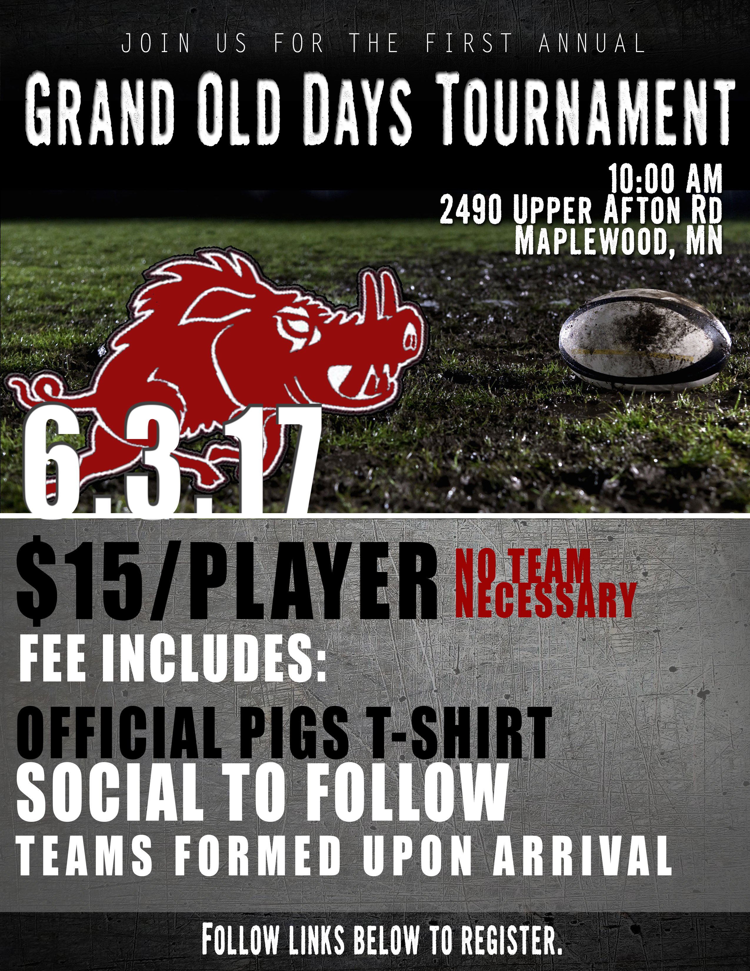 Grand Old Days Flier 2017